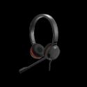 Jabra EVOLVE 30 UC Duo USB. certifié Microsoft