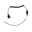 CXHS 17 ED vers prise RJ - cordon étiro - extra haute sensibilité micro - code