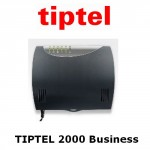 tiptel 2000 IP business-capacité de base: 2T0 + 2 SIP-trunk + 8 postes IP + 4